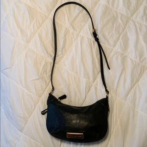 Marc Jacobs crossbody black leather handbag